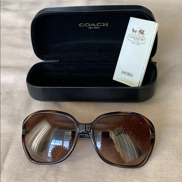 c6e22fca6ed7 Coach Accessories | Tortoise Sunglasses Hc 8145 Wcase | Poshmark